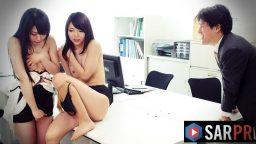 Utangaç japon sekreterlerle patron ilişkiye girdi