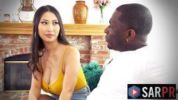 Japon film yıldızı zenci adamla cinsel birliktelik