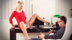 Şanslı Çaylak Olgun Kadını Ayartmayı Başardı